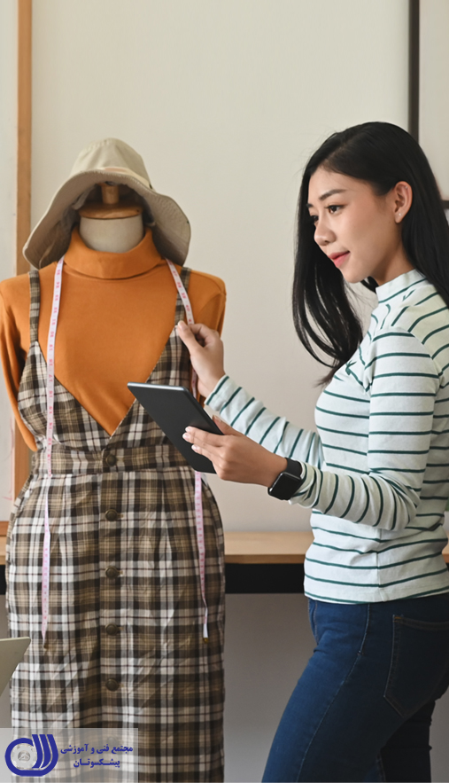 آموزش مجازی طراحی لباس با کلاس های حضوری