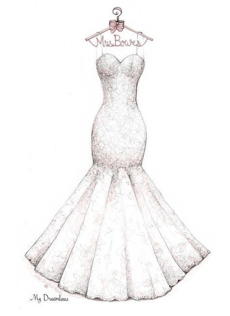 طراحی لباس عروس - رعایت نکات اندام - آموزشگاه پیشکسوتان