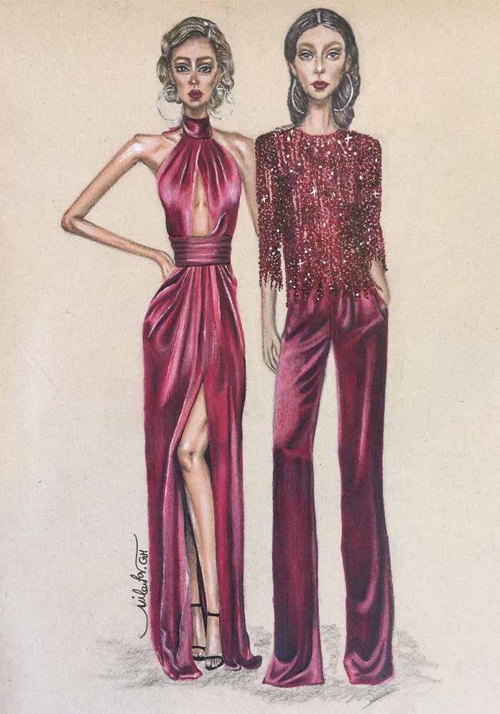 نیلوفر قربانی - مربی - آموزش طراحی لباس