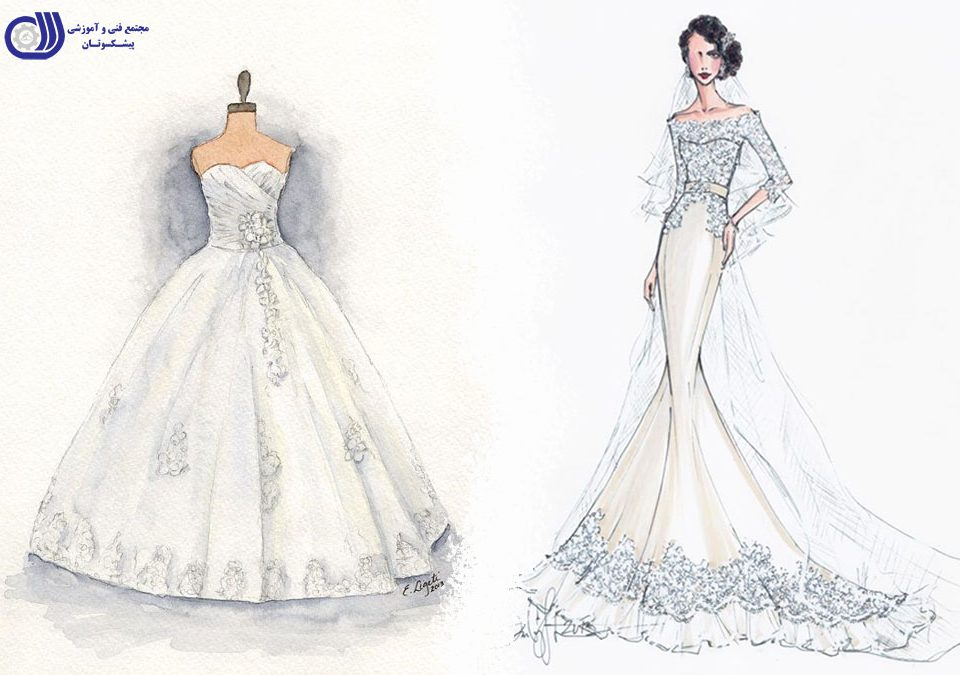 pishkesvatan-پیشکسوتان - طراحی لباس عروس
