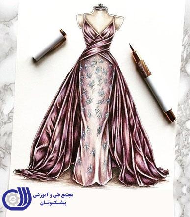 دوره مدرک بین المللی طراحی لباس را از سازمان آموزش فنی وحرفه ای کشور