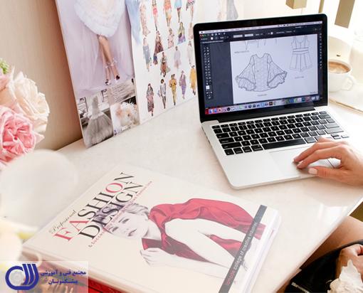 دوره های آموزش آنلاین طراحی لباس