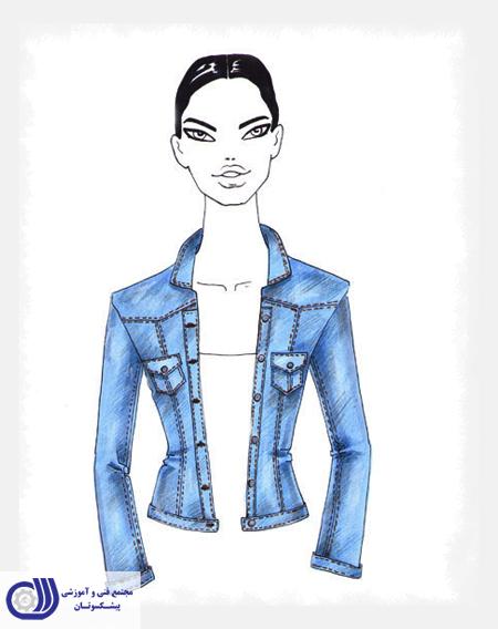پیشکسوتان - طراحی لباس جین - Denim fabric