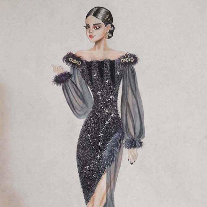 مد2 آموزش طراحی لباس