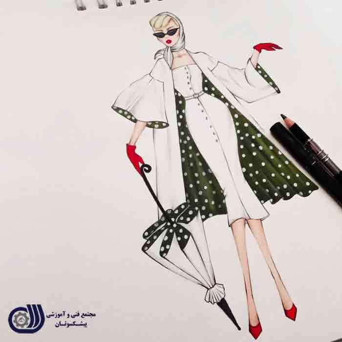 مد3 آموزش طراحی لباس