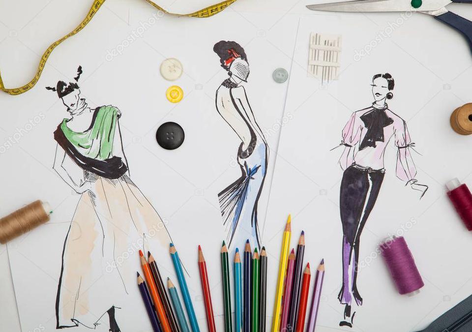 مراحل-طراحی-لباس-چگونه-است